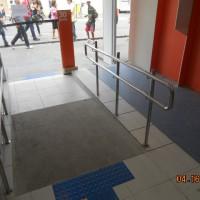 Rampa de acesso ao 24hs